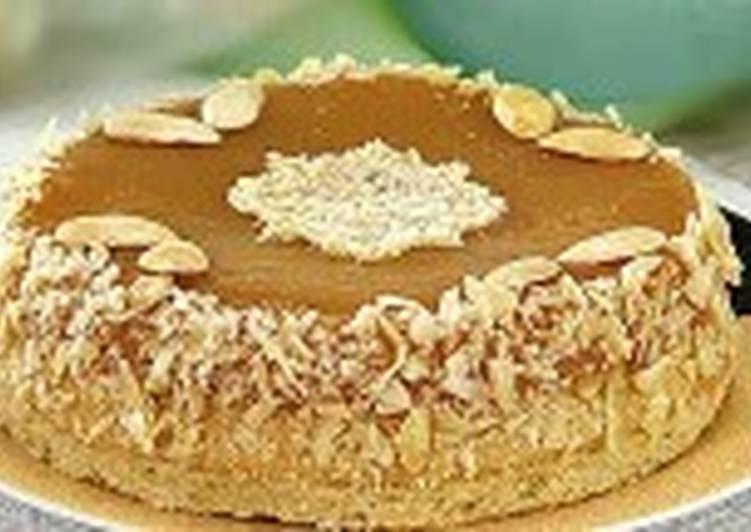 Торт с ароматом маракуйи