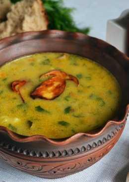 Грибной суп из белых грибов, рецепт