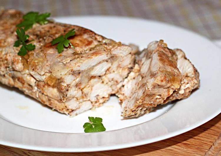 """""""Мраморное мясо"""", запеченное в духовке - оригинальный рецепт приготовления курицы"""
