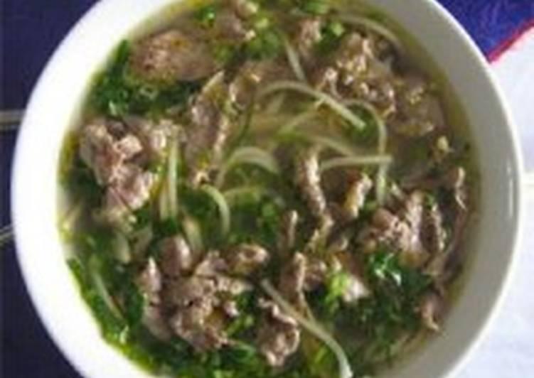 Суп из черных бобов и свинины