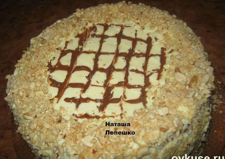 фото рецепт торт медунок