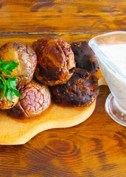 Рецепт шашлыка из шампиньонов / шампиньоны на мангале