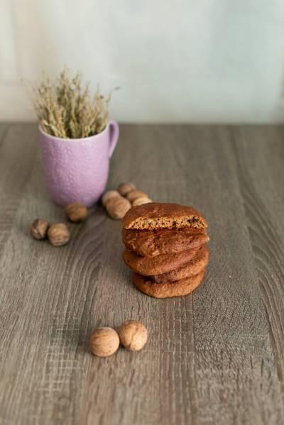 ❤ безумно вкусное шоколадно-овсяное печенье ❤ #пп