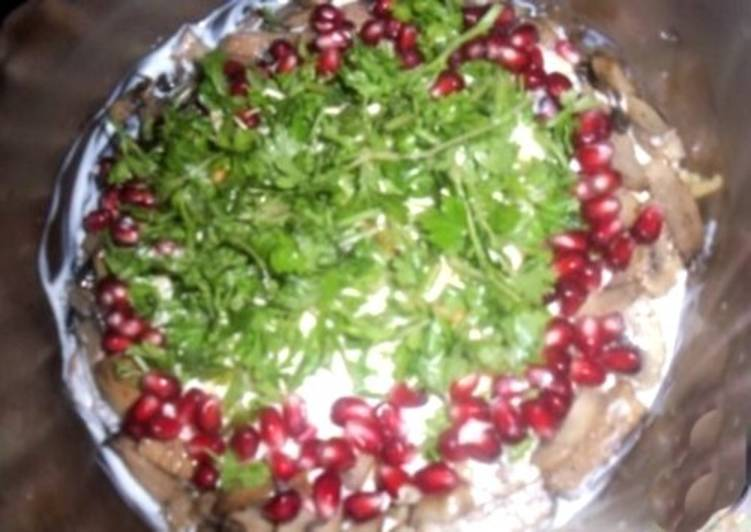 Салат новогодний овощной «Шикака»