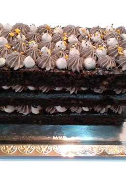 Постный низкокалорийный торт