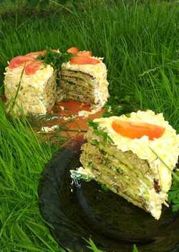 Торт из кабачков 😍👌