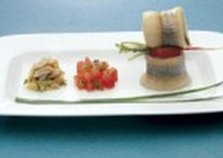 Салат весенний из норвежской сельди