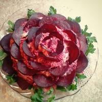 """Салат """"Чёрная роза"""""""