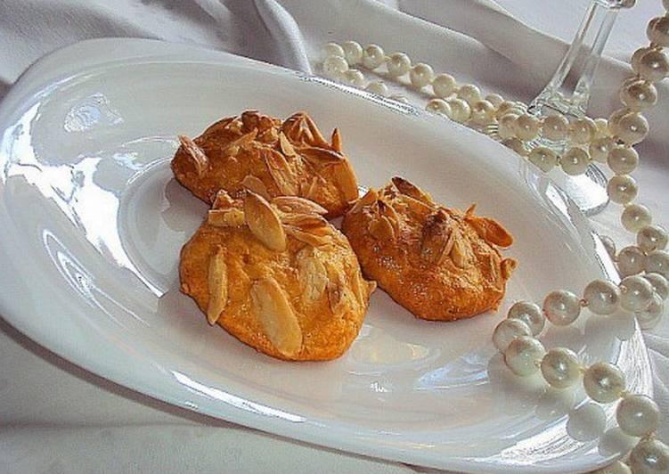 Французское сырное взбитое печенье