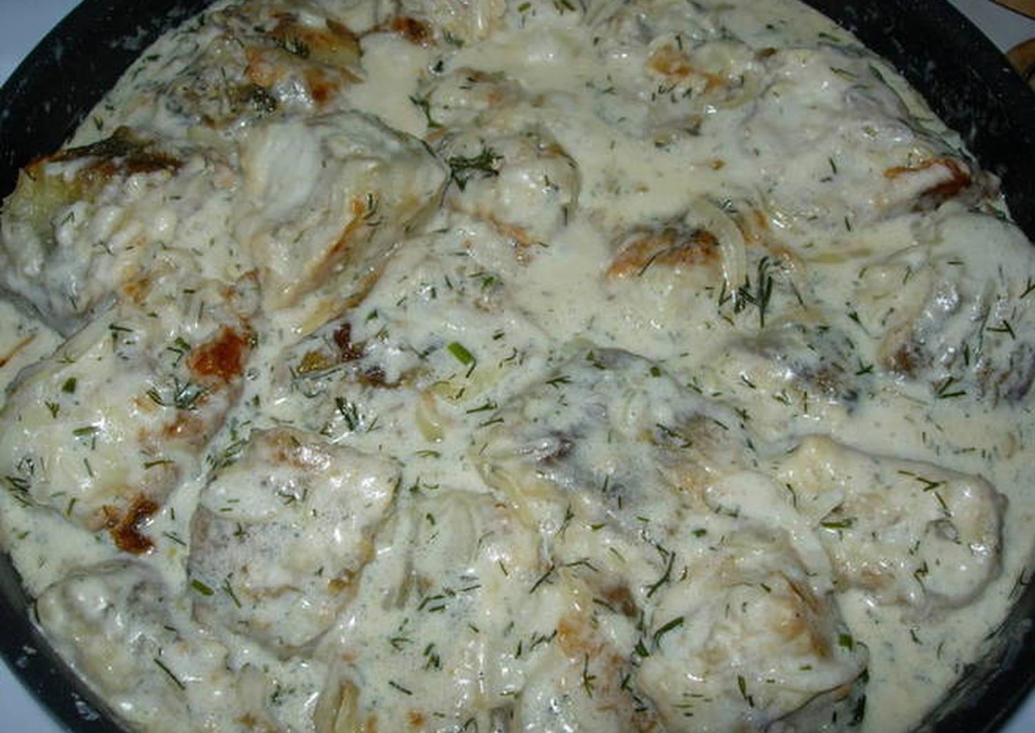 многократно обращалась рыба в сметане на сковороде рецепт с фото нет ничего