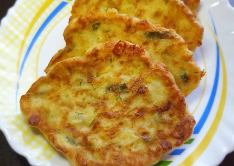 капустные оладьи с сыром рецепт