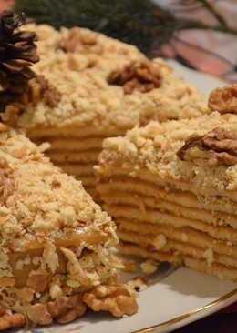 Торт на сковороде «Ореховый трюфель»
