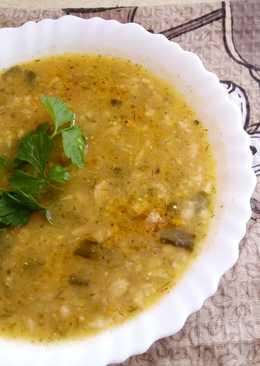 Овощной суп-пюре с овсянкой