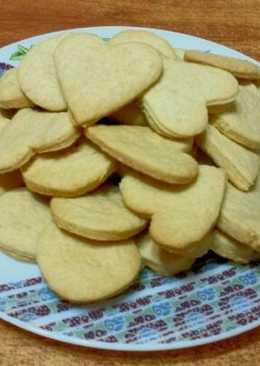 Постные печеньки к чаю