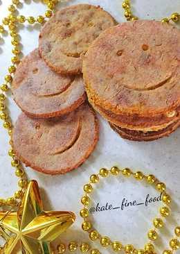 Новогоднее сырное печенье