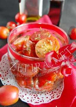 Быстрый рецепт маринованных помидоров черри