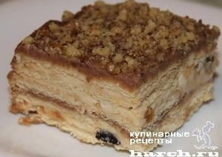 Тортик печенье с творогом 8