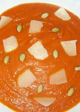 """Овощной суп-пюре """"Красненький"""""""