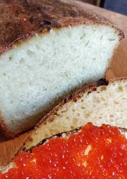 Домашнийбелый хлеб. Легко и просто