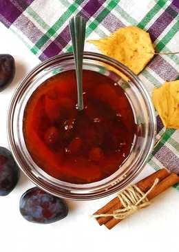 Варенье из сливы с виноградом
