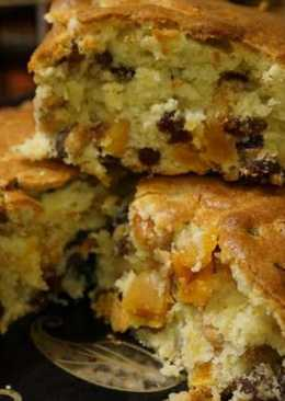 Очень вкусный пирог с сухофруктами