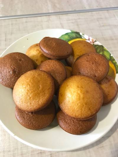 Мини кексы в духовке