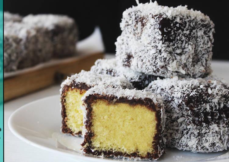 Ламингтон - Австралийский Десерт - Супер Просто и Вкусно - Рецепты nk cooking