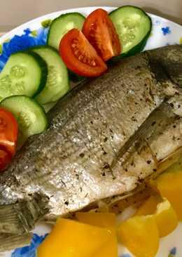 Рыбка Дорадо в соляном панцире