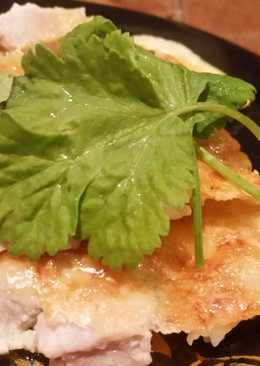 Индейка под яично-сырной корочкой