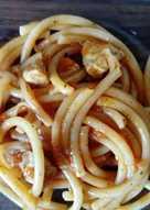 Макароны в соусе из помидоров