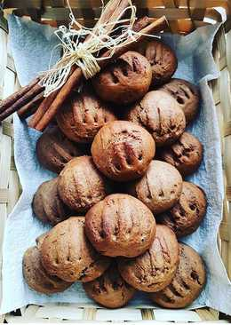 Шоколадно-арахисовое мягкое печенье на сметане #чемпионатмира #россия