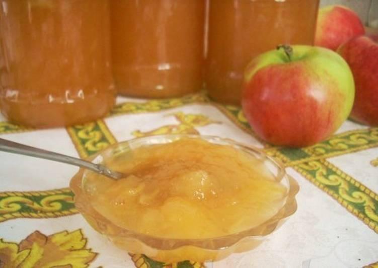 Яблочно-карамельное варенье