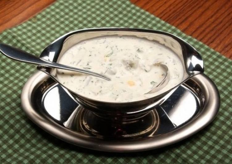Яичный соус для рыбы