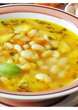 Суп из фасоли и риса