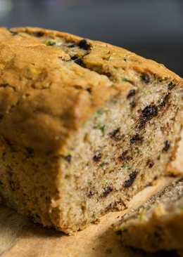 Хлеб (кекс) с кабачками
