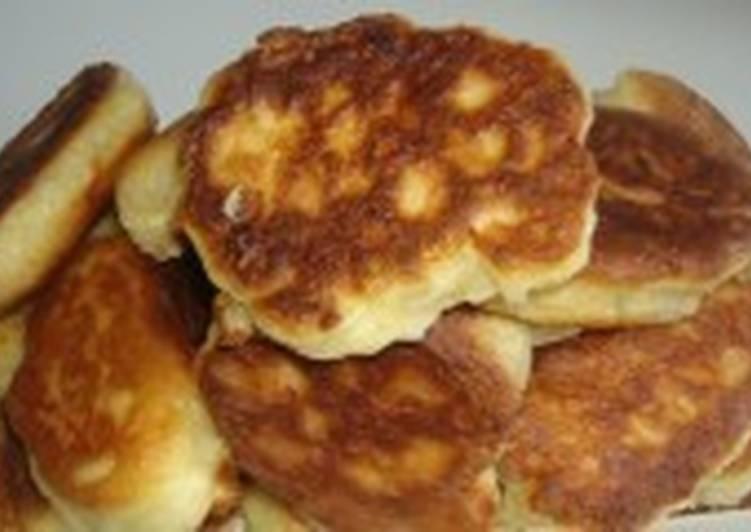 Пышки с сыром