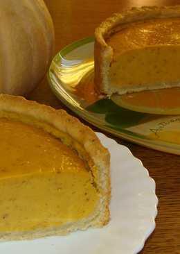 Пирог с тыквенным суфле