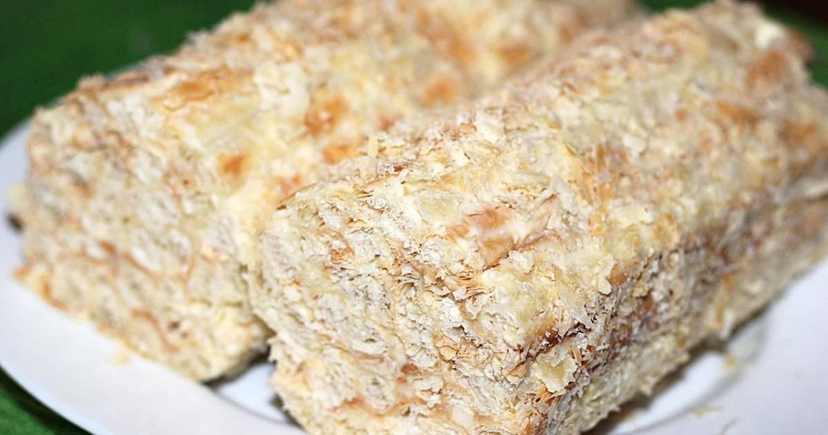 Простой рецепт бисквита из сгущенки