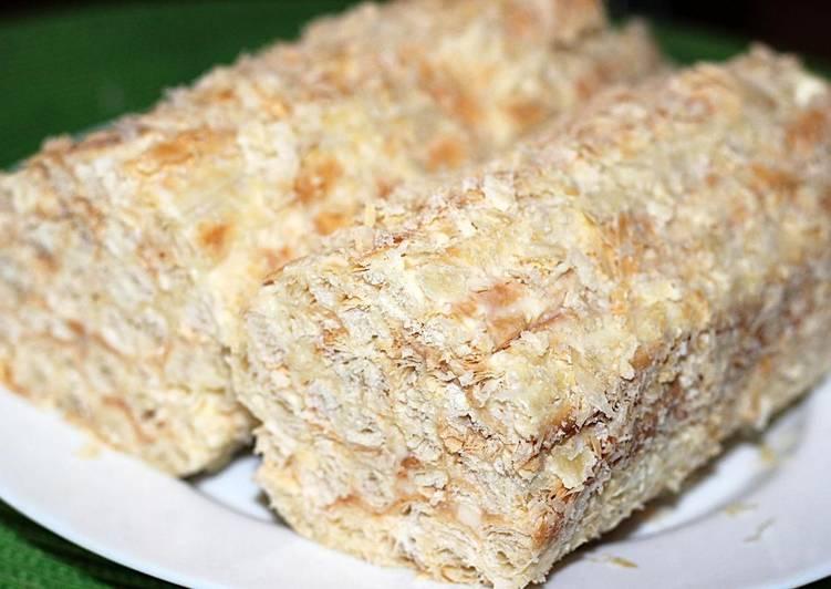 Тесто для торта со сгущенкой