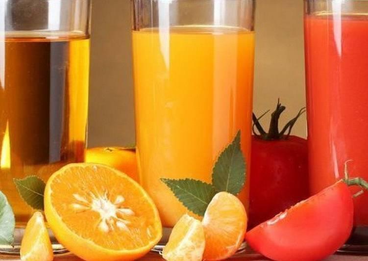 Полезные свежевыжатые соки: народные рецепты