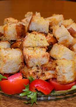 Курочка, запеченная с хлебом, по-итальянски