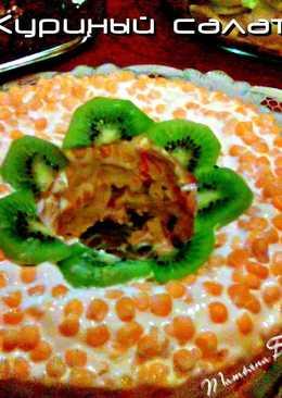 Куриный салат на праздник Светлой Пасхи