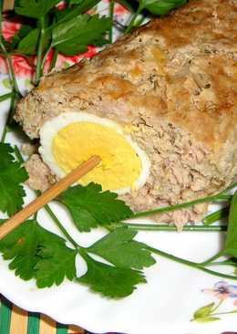 Люля - кебаб с целым яйцом
