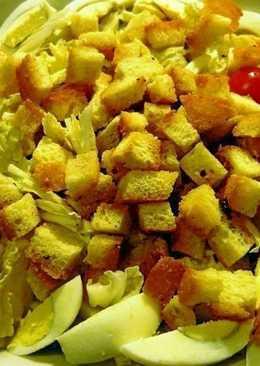 """Салат с крутонами (сухариками) """"Таррагона"""""""