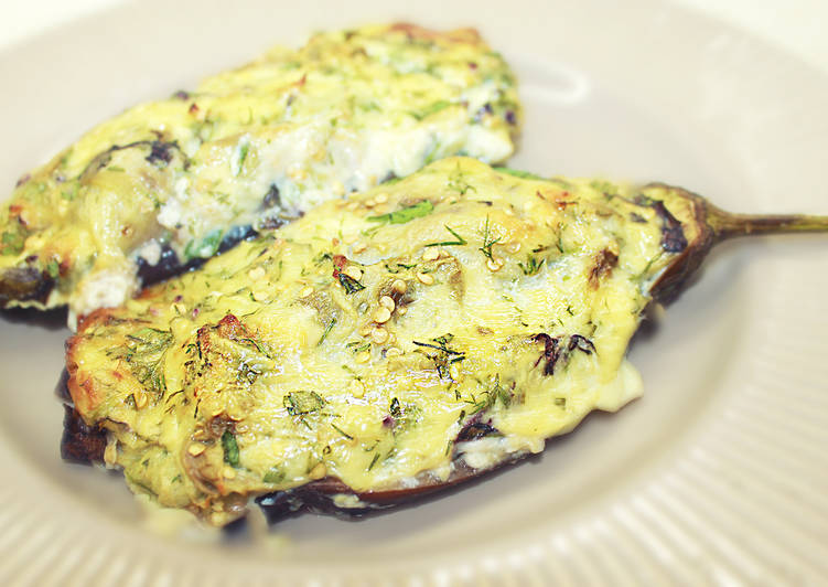 Баклажаны запеченные с сыром - Баклажаны кучерикас