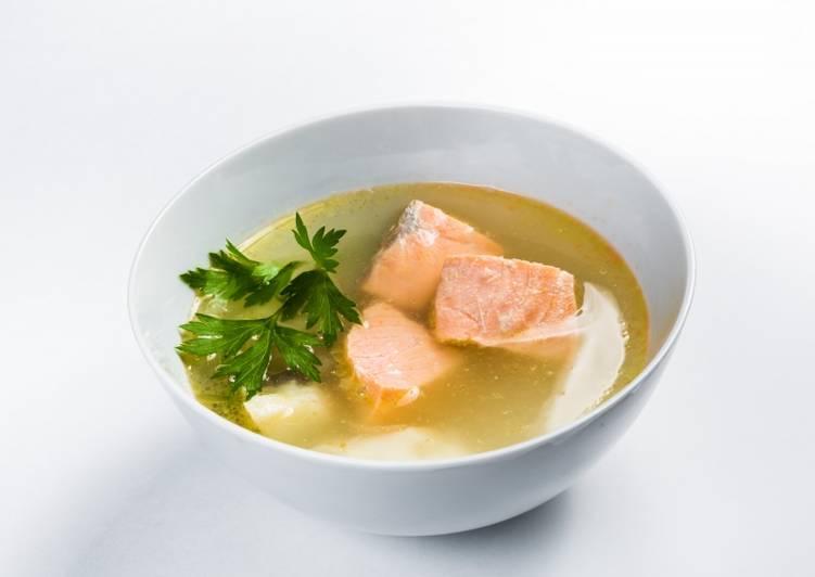 суп уха из семги рецепт