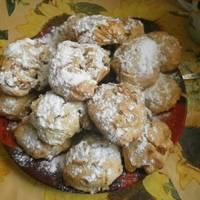 Мягкие яблочные печенья #спас