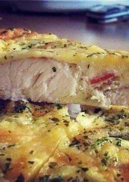 Рыба, запеченная в яйце со сметаной