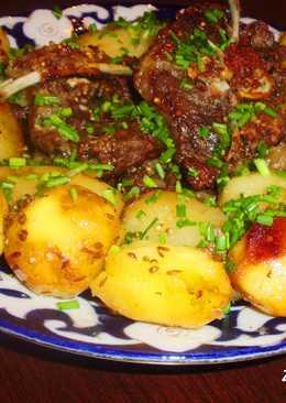Баранина с картофелем по-фергански или просто «Пирожок»
