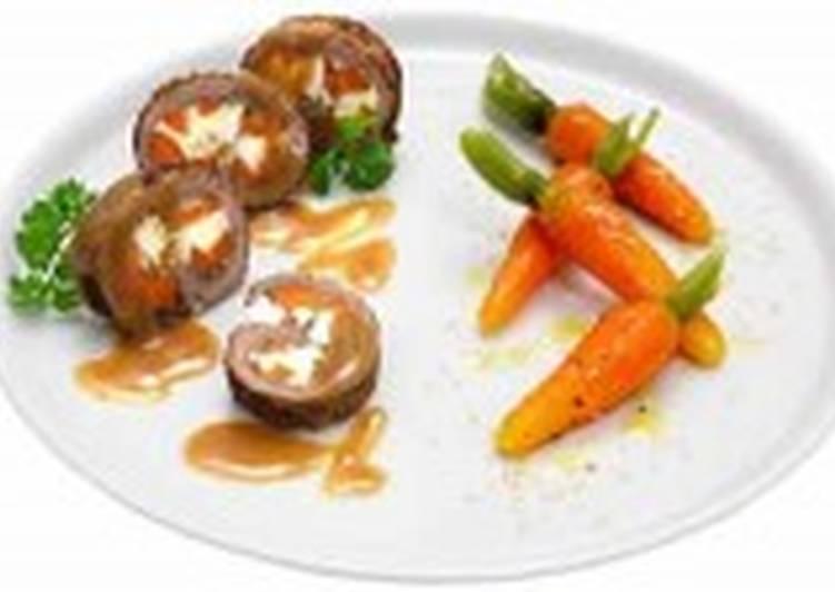 Морковь глазированная (2)